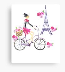 Cute Paris Inspired | For The Fashionista Canvas Print