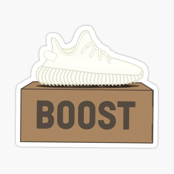 Yeezy Boost 350 V2 | Cream White Box Sticker