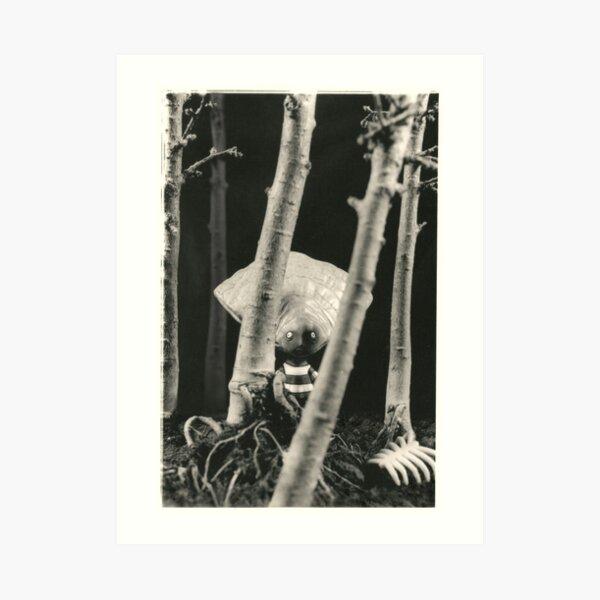 Oyster Boy - Tim Burton Art Print