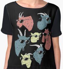 Goats Women's Chiffon Top