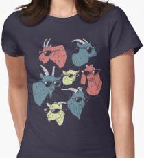 Goats Women's Fitted T-Shirt