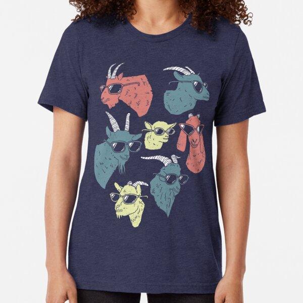 Goats Tri-blend T-Shirt