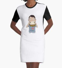 I love chips! Graphic T-Shirt Dress