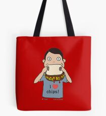 I love chips! Tote Bag