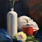 Still Life with Skull by Roz McQuillan