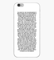 Hamlet iPhone Case