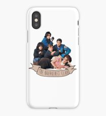the breakfast club banner iPhone Case/Skin