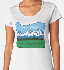 Sisters, Oregon [Alternate Design] Women's Premium T-Shirt