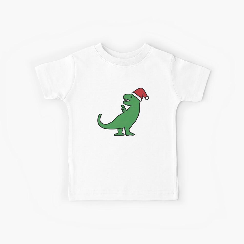 Weihnachten T-Rex Kinder T-Shirt
