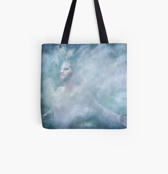 Breaking Through All Over Print Tote Bag