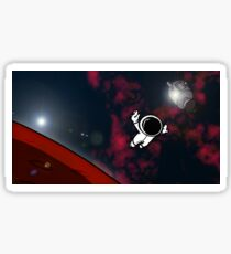 Lost In A Space Symphony - Horizontal Sticker