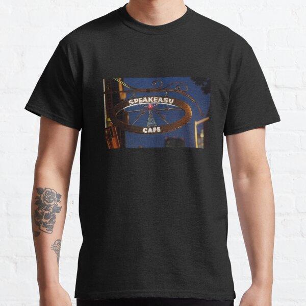 Iron Cafe Sign Classic T-Shirt