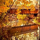 Woolslayer Covered Bridge by Valerie  Fuqua