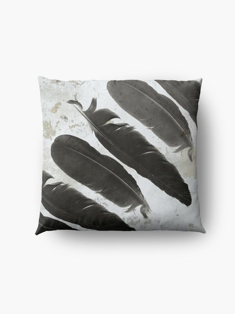 Alternate view of Raven Totem Floor Pillow