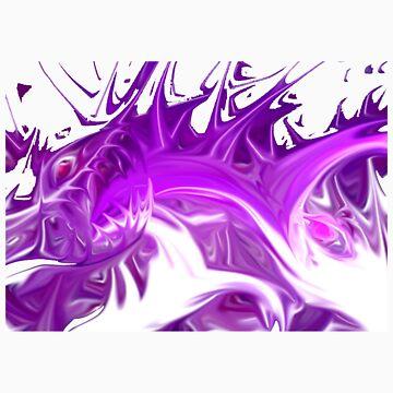 Purple Monster by Blackf3lla