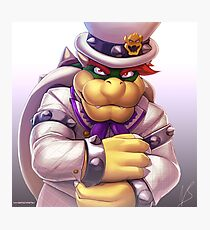 Dapper Bowser Photographic Print