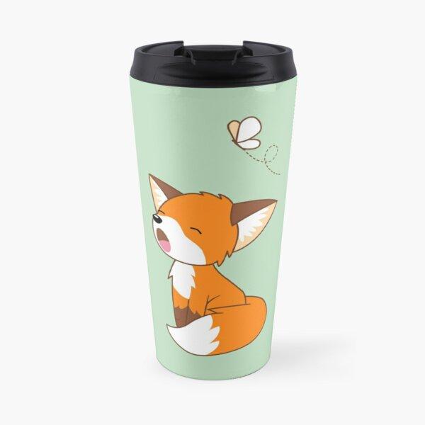 Mignon petit renard endormi Mug isotherme