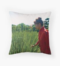 Beauty in the Blades Throw Pillow