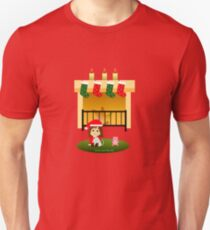 "Navidad 4 - ""Cathy and the Cat"" T-Shirt"