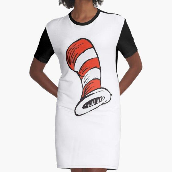 Hut ohne die Katze! T-Shirt Kleid
