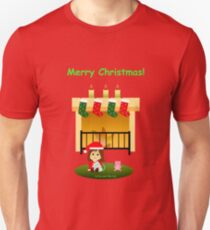 "Navidad 4 con texto - ""Cathy and the Cat"" T-Shirt"