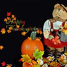 Thankful Teddy by Maria Dryfhout