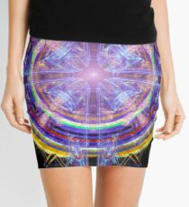 Buddha Heart Mini Skirt