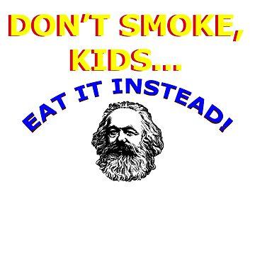 Don't smoke, kids! by folisade