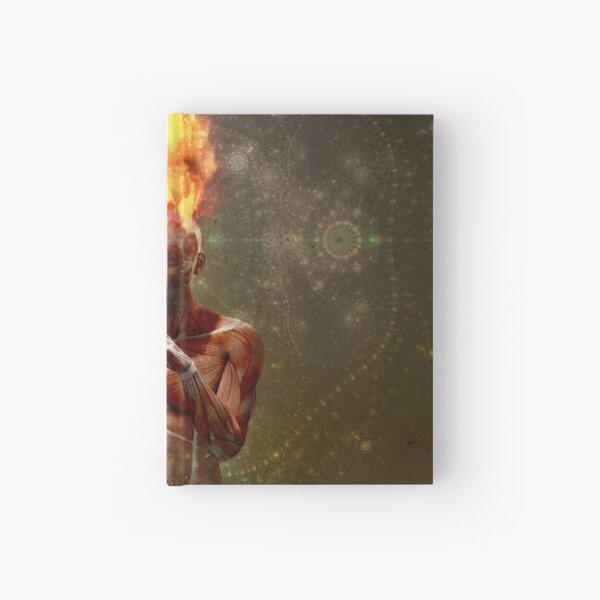 Meditator on Fire Hardcover Journal