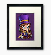 A hat in time - Playing with toys! Framed Print