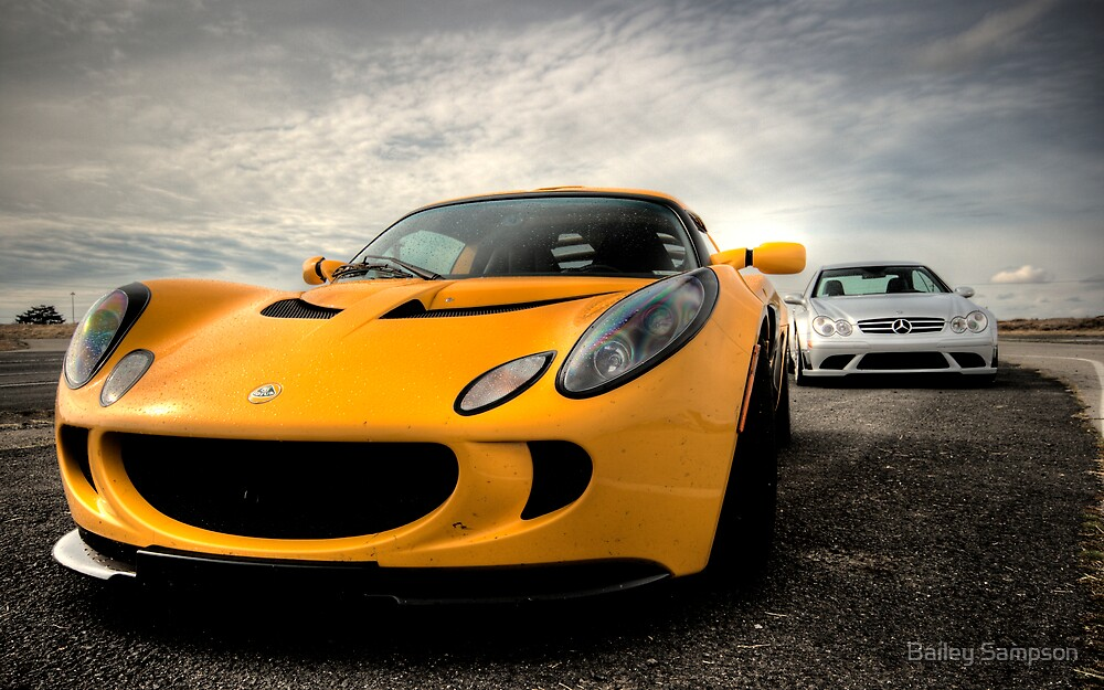 Exige and AMG by Bailey Sampson