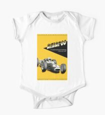 AMAROO : Vintage 1967Grand Prix Auto Racing Print Kids Clothes