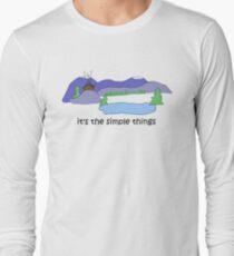 Simple Things -- Cabin Long Sleeve T-Shirt