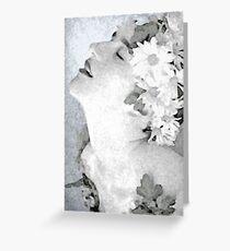 Natanya in flowers Greeting Card