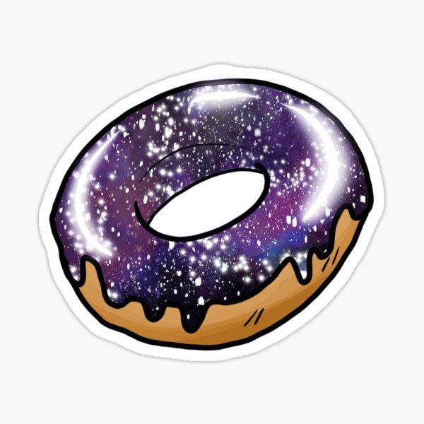 Universe doughnut Sticker