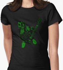 electro-cute Women's Fitted T-Shirt