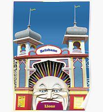 Brisbane Lions Poster