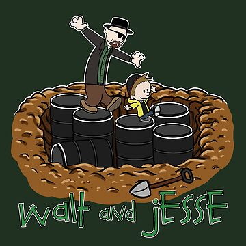 Walt and Jesse by BovaArt
