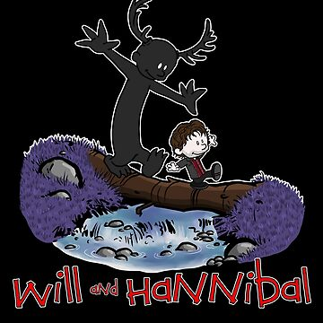 Will and Hannibal by BovaArt