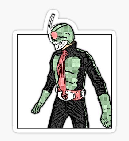Kamen Rider no.2 Sticker