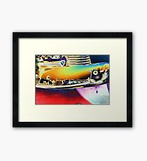 1953 Chevy Bumper Framed Print