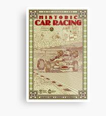 AMAROO PARK : Vintage 1996 Historic Auto Racing Print Metal Print