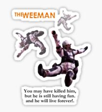 The Weeman Sticker