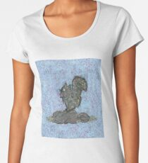 Squirrel by Kaylee Yoffe Women's Premium T-Shirt