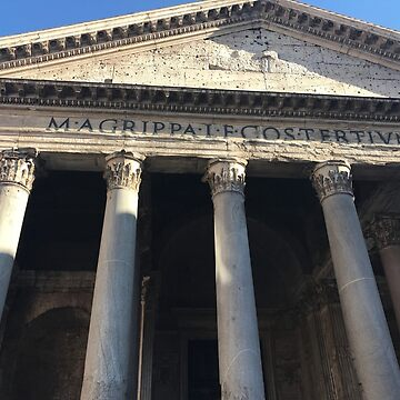 Italy europe photography print pantheon monument rome classic  by wesleykatie