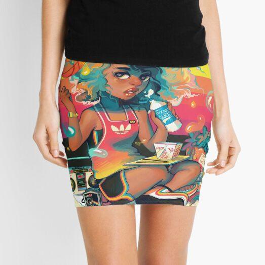Spaceketball Mini Skirt