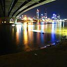 Rainbows hide under bridges by Dors