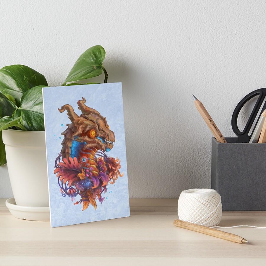 The Siaetu Art Board Print