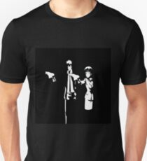 Psycho-Pass Pulp Fiction Crossover T-Shirt