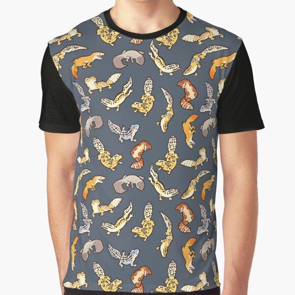 chub geckos in dark grey Graphic T-Shirt